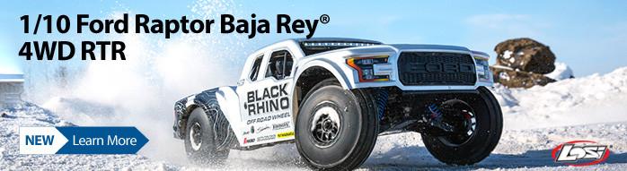 New! Losi Ford Raptor Baja Rey 4WD Brushless RTR
