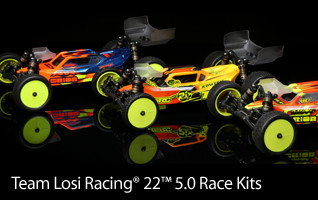 TLR 1/10 22 5.0 2WD Buggy Race Kit Family