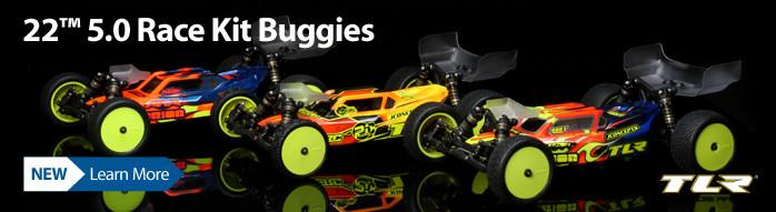 New! TLR 22 5.0 Buggy Kits