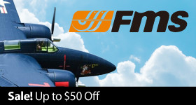 FMS Sale - Instantly save up to $50 on select FMS Airplanes and Jets through December 31, 2018