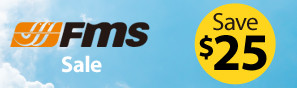 FMS Sale - Instantly Save $25 - Click to see more FMS airplanes on sale