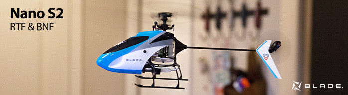 Blade Nano S2 Indoor Micro Aerobatic Helicopter with SAFE Technology