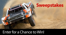 Horizon Hobby Surface sweepstakes 1/6 Super Baja Rey 4WD Desert Truck BND with AVC by Losi