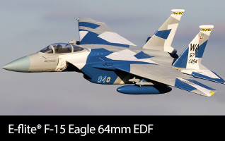 E-flite F-15 Eagle 64mm EDF