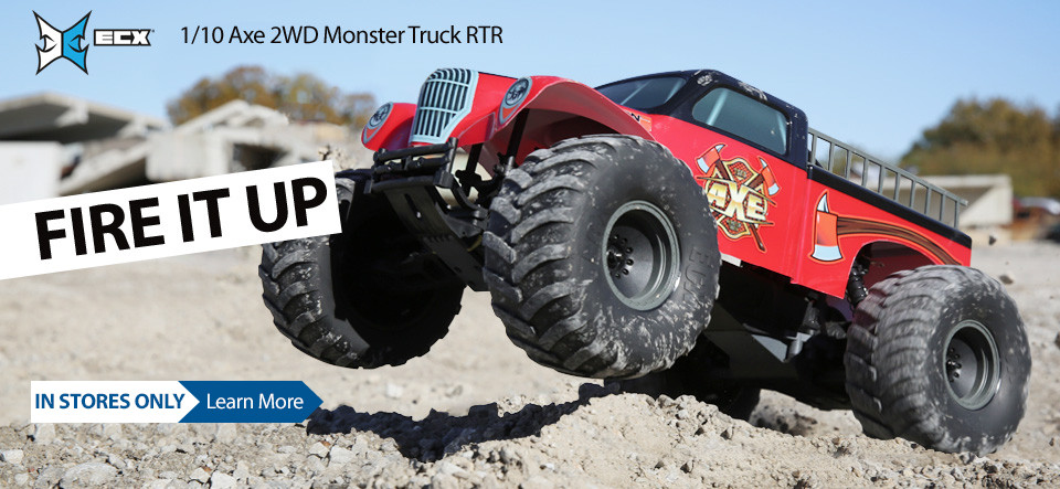 ECX 1/10 Axe 2WD Monster Truck RTR
