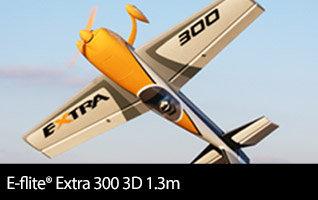 E-flite Extra 300 3D 1.3m Aerobatic Scale Airplane