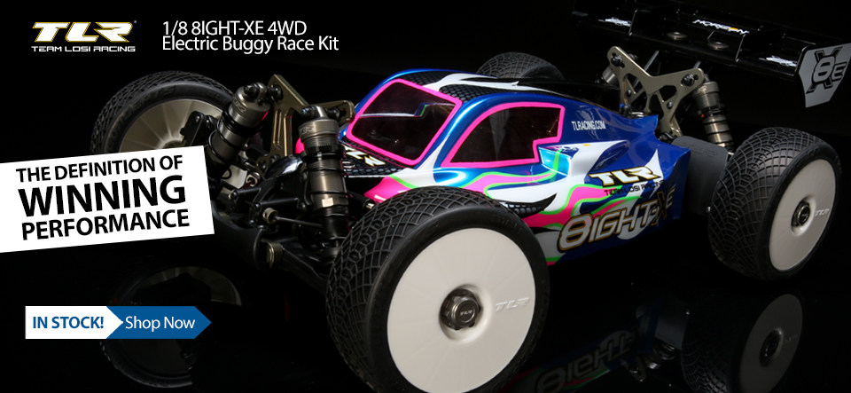 8IGHT X-E Race Kit 1/8 4WD Electric RC Buggy