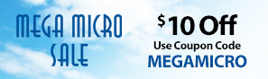 Mega Micro Sale - Save up to $10 on select E-flite UMX Airplanes with code MEGAMICRO through February 28, 2019 - Click to see more Mega Micro deals
