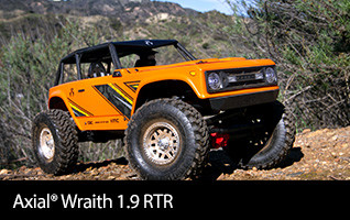 Axial 1/10 Wraith 1.9 4WD Brushed RTR