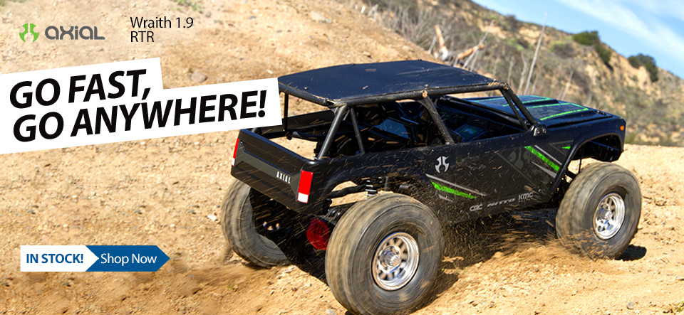 Axial RC 1/10 Wraith 1.9 4WD RTR