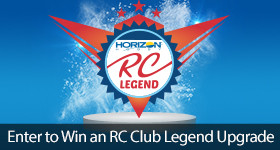Enter to Win an RC Club Legend Upgrade Sweepstakes