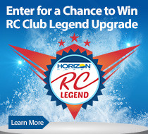 Enter for a chance to win an RC Club Legend Upgrade and 80,000 bonus points