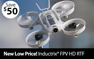 New Low Price on the Blade Inductrix FPV HD RTF Quadcopter
