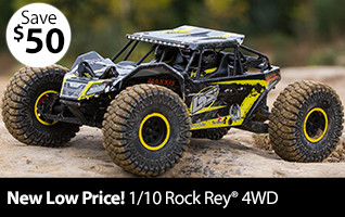 Losi 1/10 Rock Rey 4WD Brushless RTR with AVC New Low Price