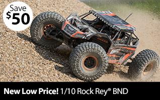 Losi 1/10 Rock Rey 4WD Rock Racer Brushless BND
