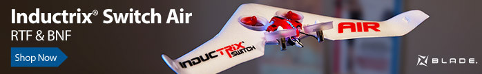 Blade Inductrix Switch Air Transformable Drone and Flying Wing Indoor RC Aircraft