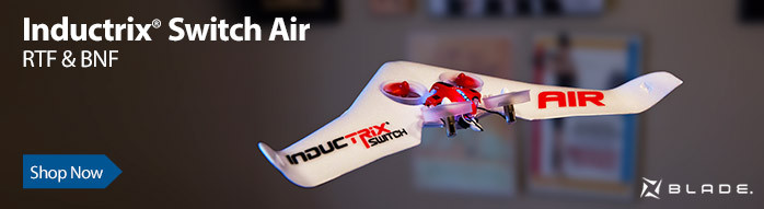 Blade Inductrix Switch Air Transformable Drone and Flying Wing RC Aircraft