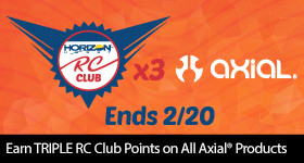 Triple Point Treasure - Earn triple points on all Axial RC Products