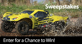 Enter for a chance to win a Losi 1/10 22S 2WD SCT RTR, MagnaFlow