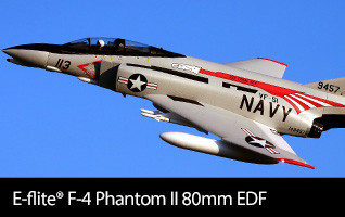F-4 Phantom II 80mm EDF BNF Basic & PNP
