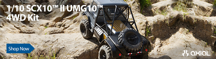 Axial RC 1/10 SCX10 II UMG10 4WD Rock Crawler Kit