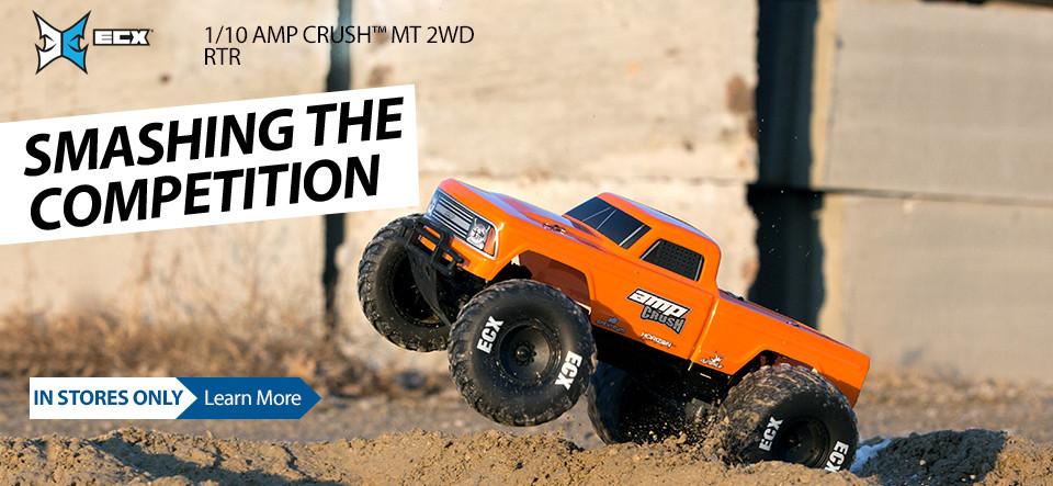 ECX 1/10 AMP CRUSH MT 2WD RTR