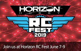 Join us at Horizon RC Fest - June 7-9, 2019