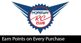 Earn Points with the Horizon RC Club - Membership is Free