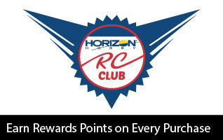 Earn rewards points on your purchases - Join the Horizon RC Club for Free