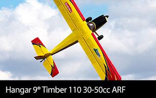 Hangar 9 Timber 110 30-50cc ARF, 110 inch