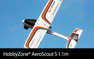 In Stock! Learn more about the highly sought after AeroScout S from HobbyZone