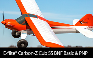 E-flite Carbon-Z Cub SS BNF Basic & PNP