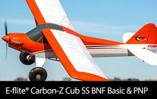 E-flite Carbon-Z Cub SS 2.1m BNF Basic & PNP