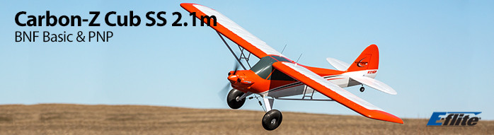 E-flite Carbon-Z Cub SS 2.1m BNF Basic and PNP Airplane