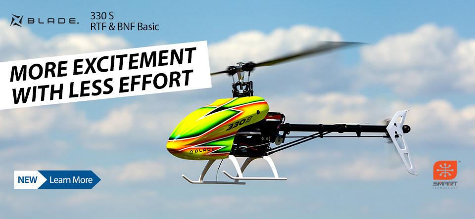 Blade 330 S RTF and BNF Basic