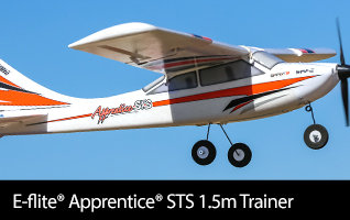 Available E-flite Apprentice STS 1.5m Trainer