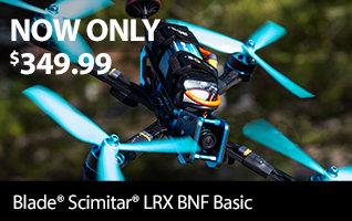 New Low Price - Blade Scimitar LRX FPV BNF Basic