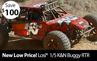 New Low Price Losi 1/5 K&N DBXL 4WD Buggy Gas RTR