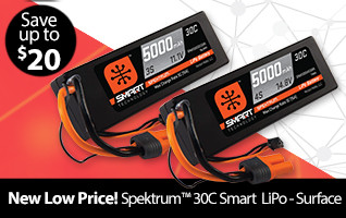 Spektrum Smart Surface Batteries New Low Price
