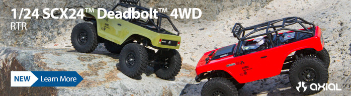 New! Axial 1/24 SCX24 Deadbolt RTR Rock Crawler