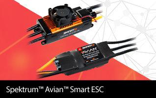 Shop Spektrum Smart ESCs - the Future of Telemetry