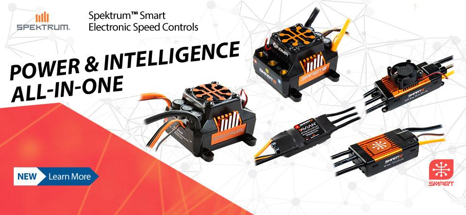 New! Spektrum Smart Technology ESCs