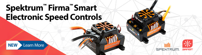 New! Spektrum Firma Smart ESCs