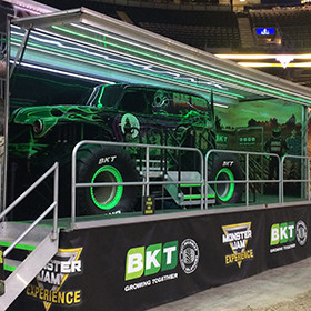 MONSTER JAM EXPERIENCE POWERED BY BKT TIRES MEET DRIVER BARI MUSAWWIR