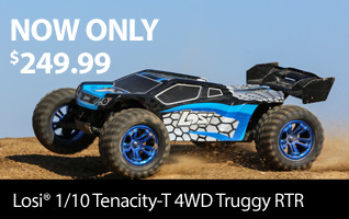 Losi 1/10 TENACITY-T 4WD Truggy Brushless RTR with AVC