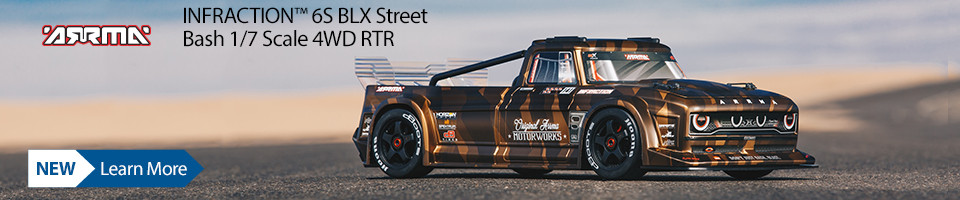 New! ARRMA INFRACTION Street Bash