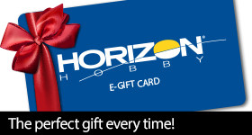 Horizon Hobby eGift Cards - the Perfect Gift Every Time!