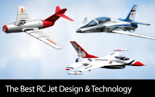 The best designs and technology for the best RC jet experience