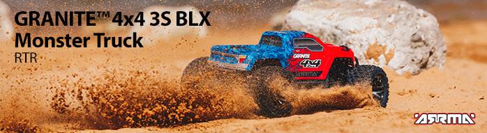 ARRMA Granite 4X4 3S BLX Monster Truck RTR
