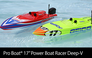 Pro Boat 17-inch Power Boat Racer Deep-V RTR